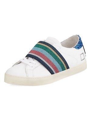 D.A.T.E. Hill Low-Top Pop Sneakers