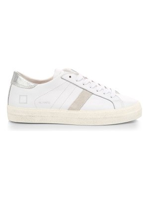 D.A.T.E. hill low vintage calf leather sneakers