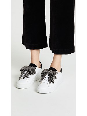 D.A.T.E. newman bow strass sneakers