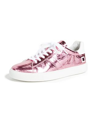 D.A.T.E. newman laminated sneakers