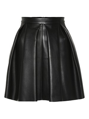 David Koma Leather miniskirt