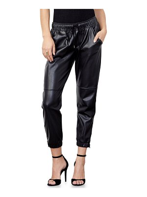 David Lerner Blake Ankle-Zip Jogger Pants