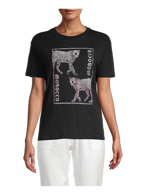 David Lerner Morocco Boyfriend Graphic T-Shirt