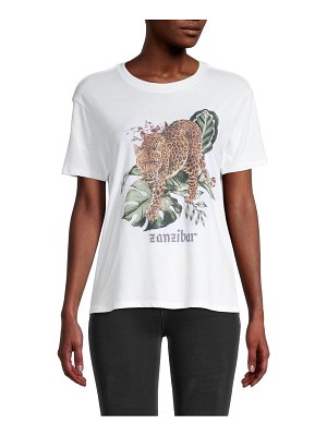 David Lerner Zanzibar Graphic Boyfriend T-Shirt