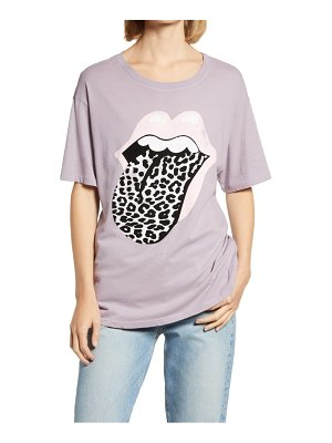 DAYDREAMER leopard tongue tour graphic tee