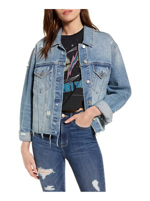 DAZE ex boyfriend denim jacket