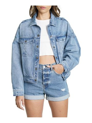 DAZE the rider oversize denim jacket