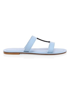Definery bar leather sandals