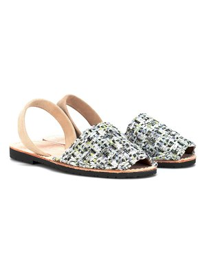 DEL RIO LONDON tweed sandals
