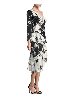 Delfi Collective Lily Floral Ruffle Dress