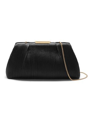DEMELLIER Florence Pleated Clutch Bag