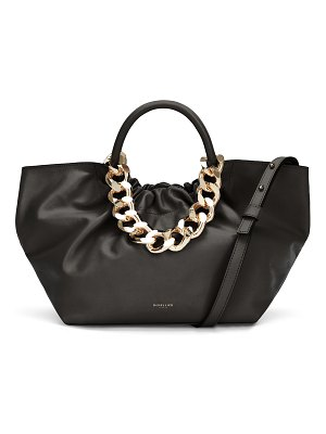 DEMELLIER Los Angeles Top-Handle Bag with Chain Strap