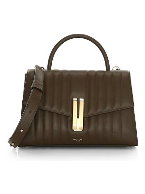 DEMELLIER montreal quilted leather satchel