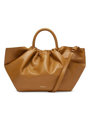 DEMELLIER midi los angeles leather tote