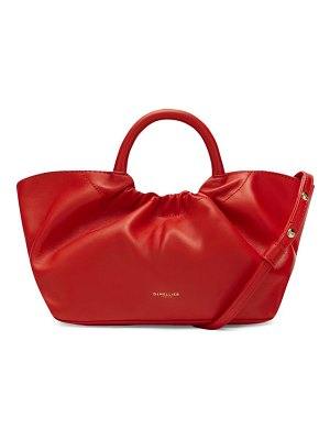 DEMELLIER mini los angeles leather tote