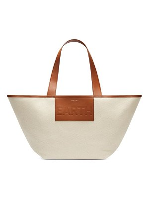 DEMELLIER the earth tote - fighting plastic pollution