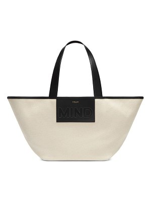 DEMELLIER the mind tote - educating all girls