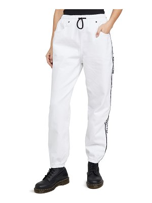 Denim x Alexander Wang denim track pants
