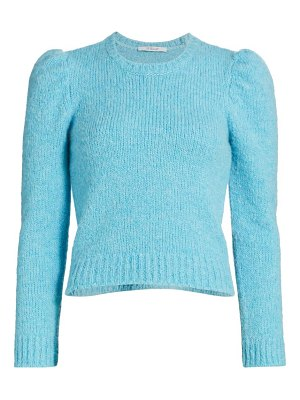 DEREK LAM 10 CROSBY locken puff-sleeve knit sweater