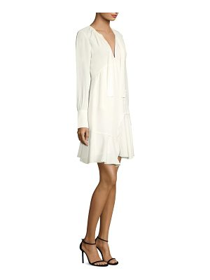DEREK LAM 10 CROSBY silk shift dress
