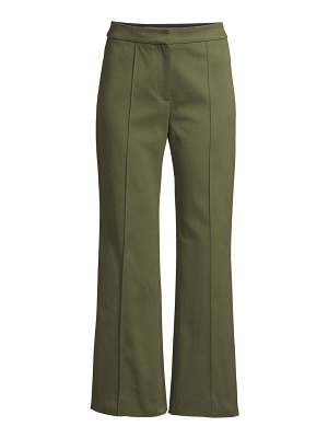 Derek Lam cropped flare twill trousers