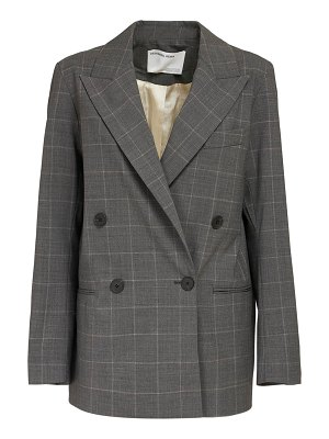Designers Remix Aja double breasted wool blend blazer