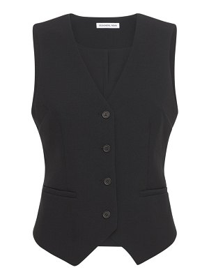 Designers Remix Albi classic fitted recycled fabric vest