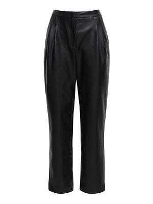 Designers Remix Marie pleated faux leather pants