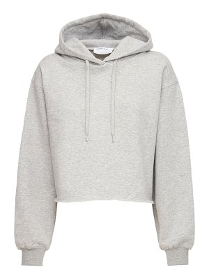 Designers Remix Willie embroidered cropped hoodie