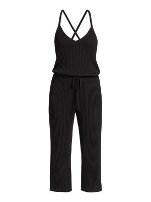 DH New York diana cropped jumpsuit