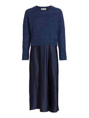 DH New York lily long-sleeve sweater dress