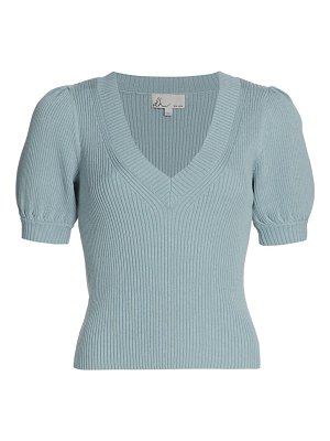 DH New York remi puff-sleeve top