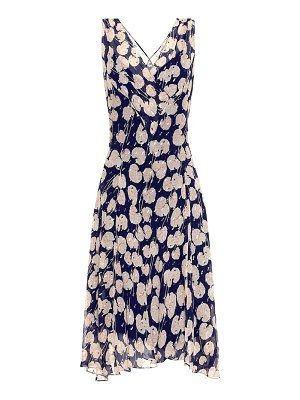 Diane von Furstenberg dita printed silk-blend dress
