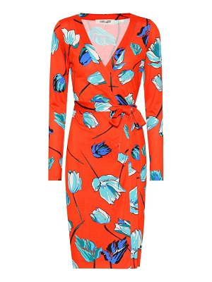 Diane von Furstenberg Julian silk jersey wrap dress