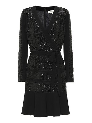 Diane von Furstenberg mara sequined jersey midi dress