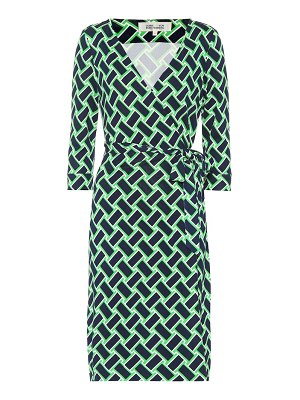 Diane von Furstenberg New Julian printed silk wrap dress