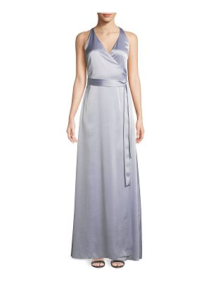 Diane von Furstenberg Sleeveless Floor-Length Wrap Dress