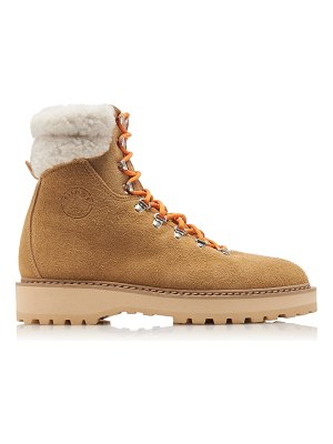 Diemme moda exclusive monfumo shearling hiking boots size: 35