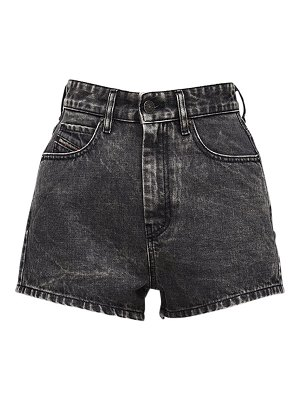 Diesel D-isi high waist washed denim shorts