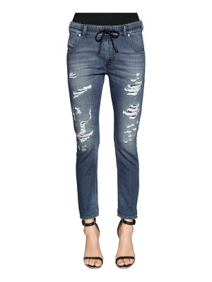Diesel Relaxed boyfriend destroyed denim jeans