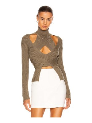 Dion Lee cable tie sweater