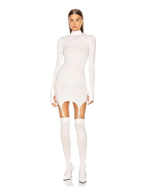 Dion Lee garter mini dress