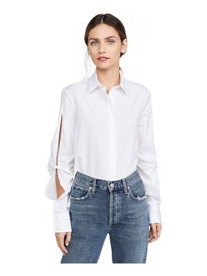 Dion Lee hinge knot shirt