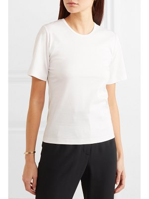 Dion Lee layered cotton-jersey t-shirt