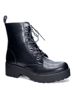DIRTY LAUNDRY lace-up boot