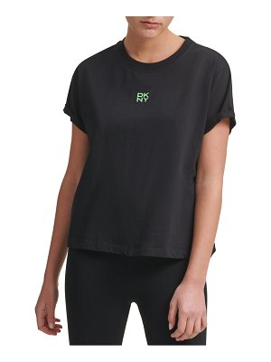 DKNY Sport embroidered logo t-shirt