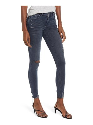DL 1961 1961 emma ripped ankle skinny jeans