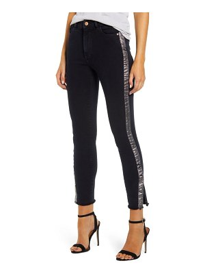 DL 1961 1961 instasculpt farrow high waist crop split hem skinny jeans