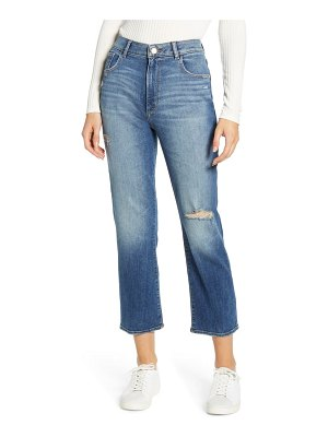 DL 1961 1961 jerry high waist ankle straight leg jeans