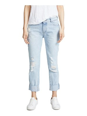 DL 1961 1961 stevie rigid slim boyfriend jeans